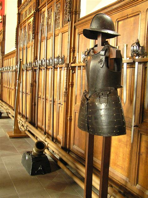 Armor and Weapons, Edinburgh Castle   The walls of the