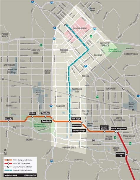 Metro on track for a push on East San Fernando Valley